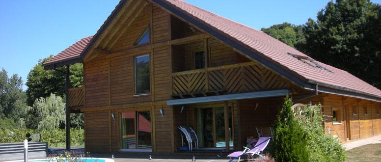 construction de maison en bois chalets abris et extensions bois la maison du bois