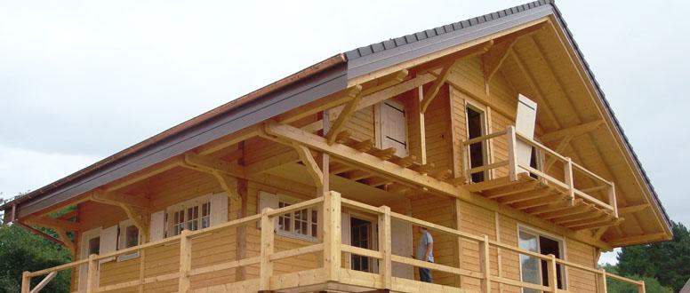 maison en bois, chalets, abris et extensions bois  La Maison du Bois ~ Parasites Du Bois Maison